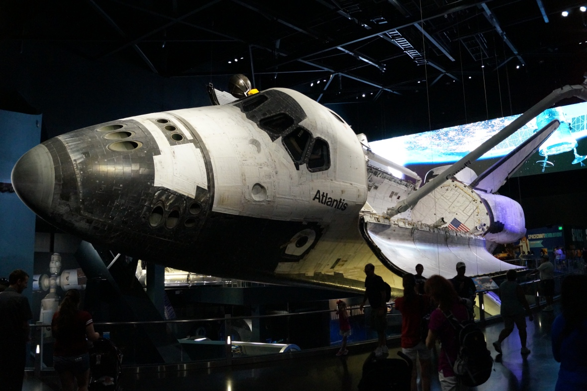Space Shuttle Atlantis - Kennedy Space Center - USA, FL
