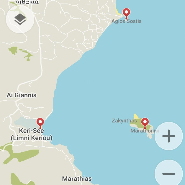 Bootstour auf Zakynthos nach Marathonisi und Agios Sostis